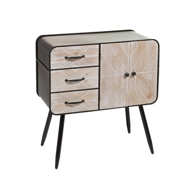 Wooden and iron console Urban