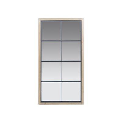 Espejo ventana estilo rústico Montana 65x123 cm