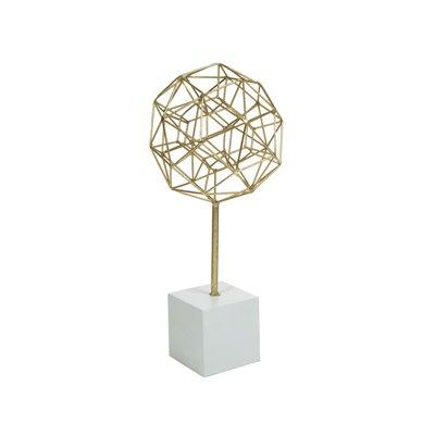 Figura poliedro oro