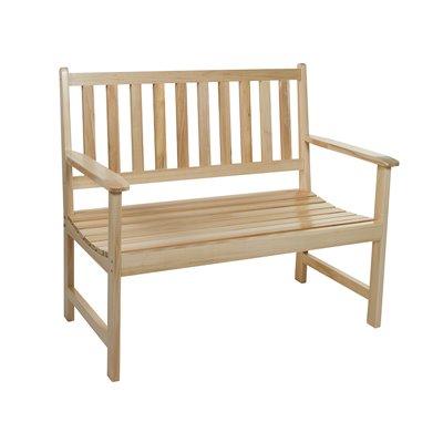 Holzbank für Terrasse und Garten