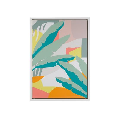 Abstract leaves frame