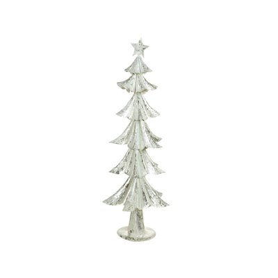 Christmas tree silver/white