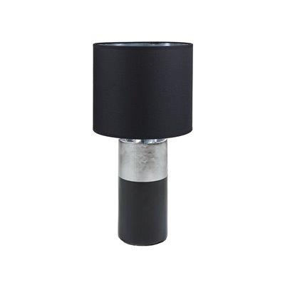 Lámpara negra cerámica