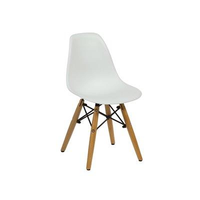 Stuhl weiß ABS