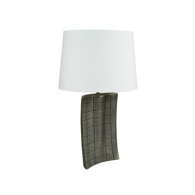 Lámpara plata antigua 21x9x32 cm