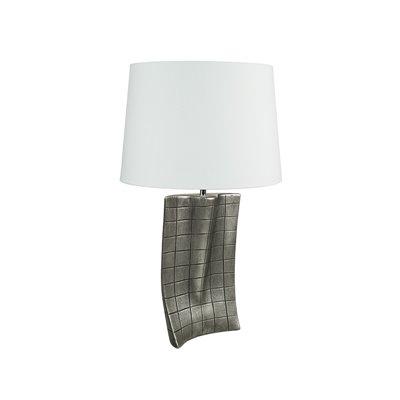 Lámpara plata antigua 25x9x37 cm