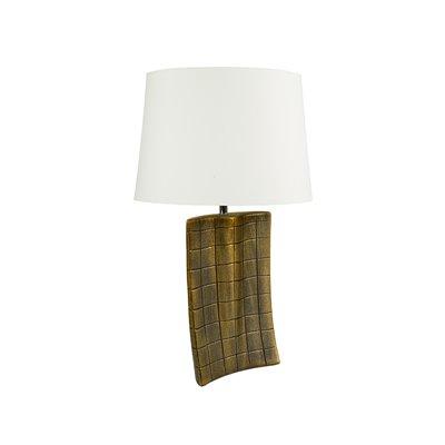 Lámpara oro antiguo 21x9x32 cm