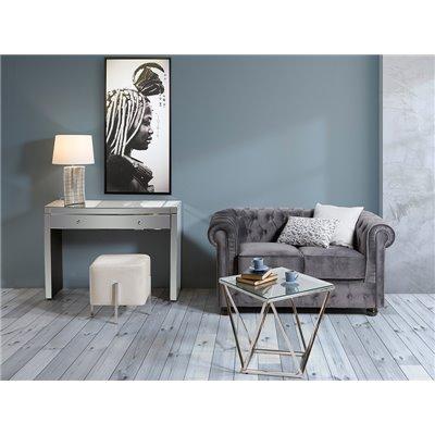 Sofa 2 seater Gray Chester