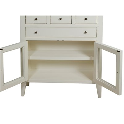 CABINET 4 DRAWERS 80x28x90