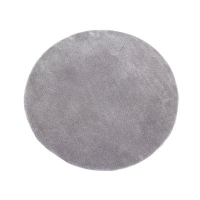 Alfombra redonda gris