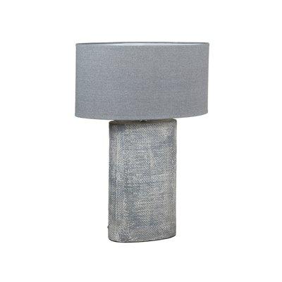 Ceramic gray lamp