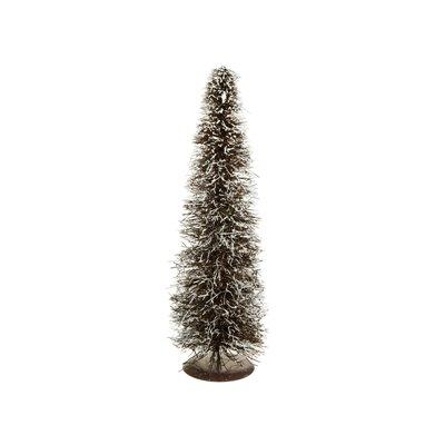Árbol de Navidad natural nevado