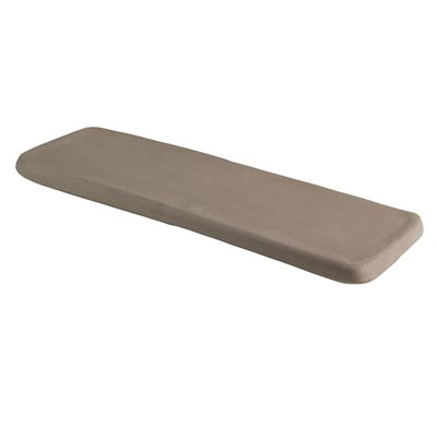 Taupe shelf tray