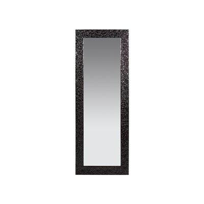 Espejo estuco negro
