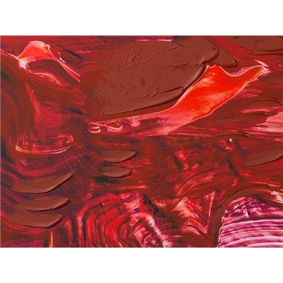 Cuadro óleo rojo