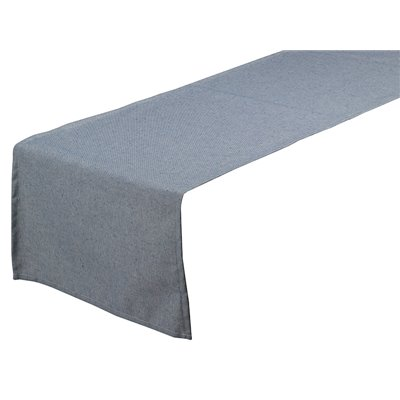 Table runner Old Panama blue 40x135 cm