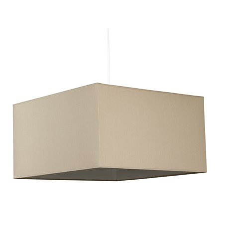 Lámpara de techo cubo arena