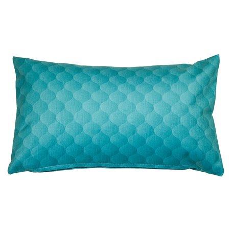 Cushion Dune aqua 30x50 cm