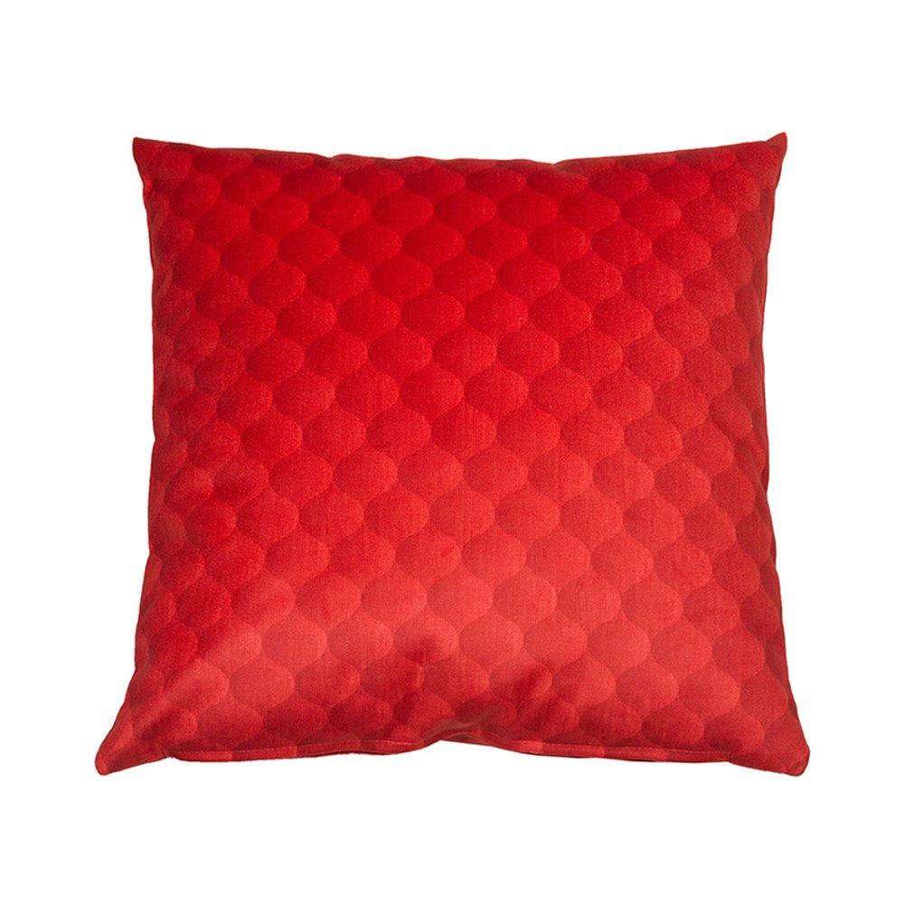 Cojín Dune rojo 45x45 cm