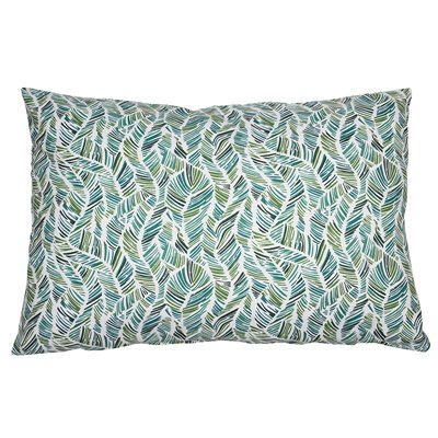 Adan cushion coordinated green 50x70 cm