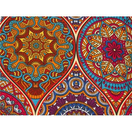 Coxín Indi multicolor 45x45 cm