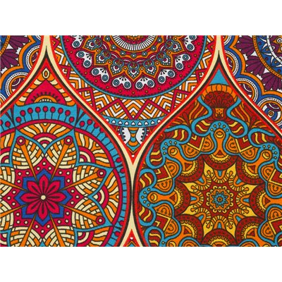 Cojín Indi multicolor 50x70 cm