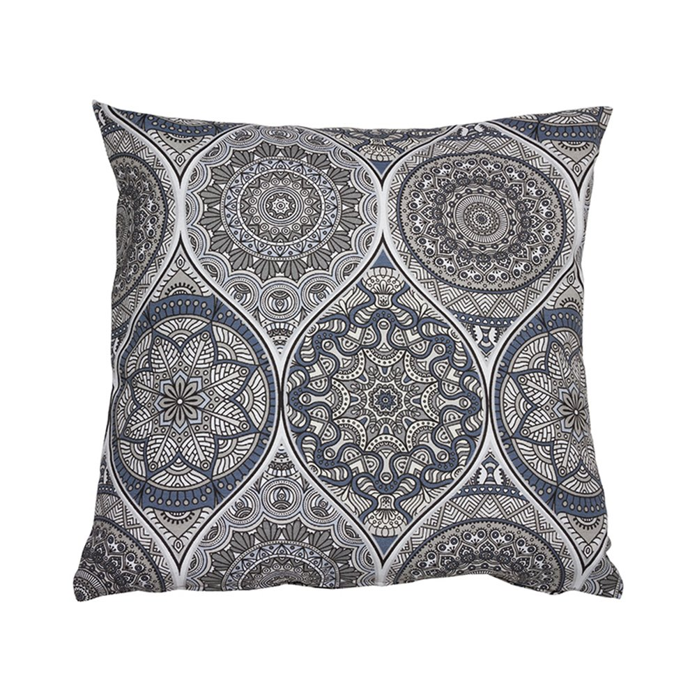 Indi gray cushion 45x45 cm