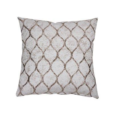 Beige Cell Cushion 45x45 cm