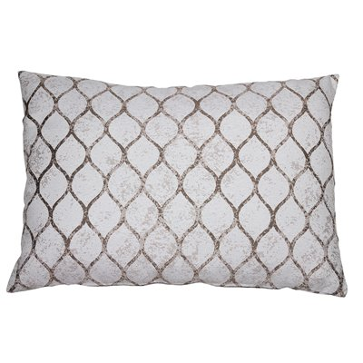 Beige Cell Cushion 50x70 cm