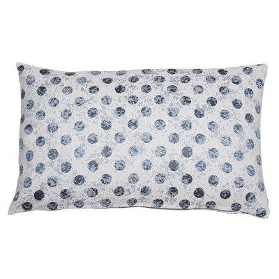 Coordinated cell cushion Aqua 30x50 cm