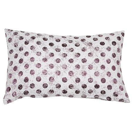 Cell Coordinated Purple Cushion 30x50 cm