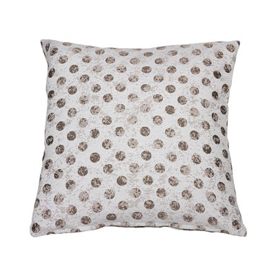 Cell Coordinated Beige Cushion 60x60 cm