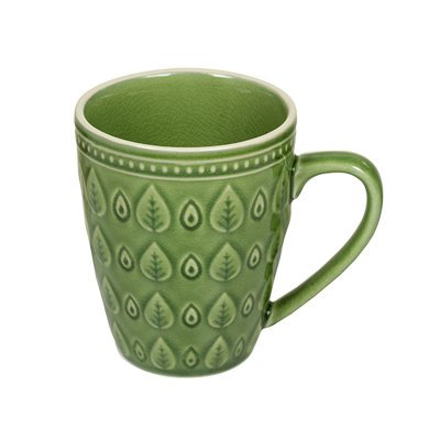 Green natural cup