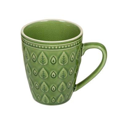 Grüne natürliche Tasse