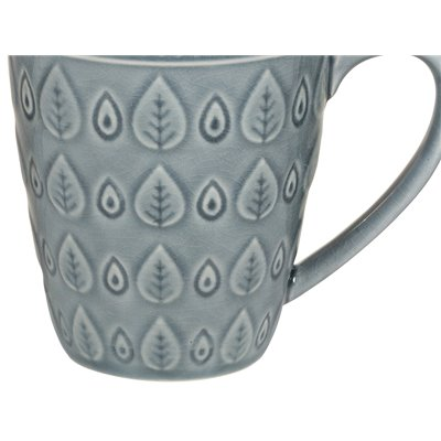 Taza natural azul
