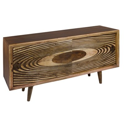 Solar Sideboard with sliding doors