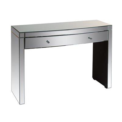 Mueble recibidor de espejo con 2 cajones