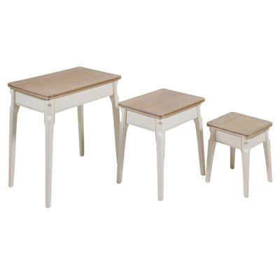 Set of 3 nest tables Agadir