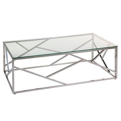 Mesa de centro con cristal Abstract