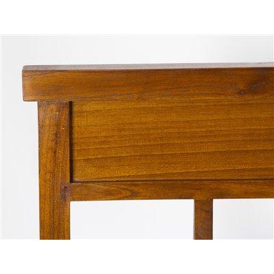 Cabecero de cama en madera