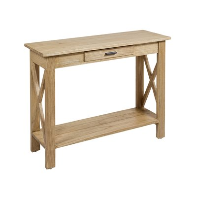 Aspas Console table colonial style clear