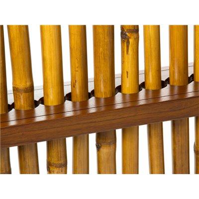 Separador de bambú nogal