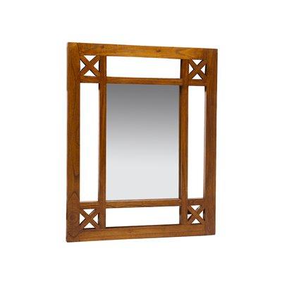 Recibidor rústico con espello