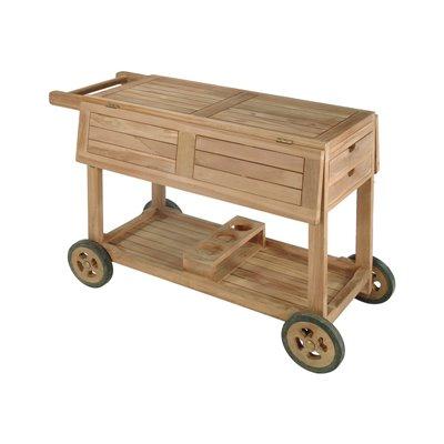 Camarera en madera de teca