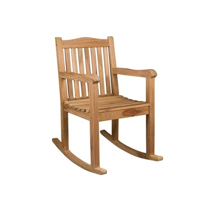 TEAK ROCKING CHAIR 98x56x55