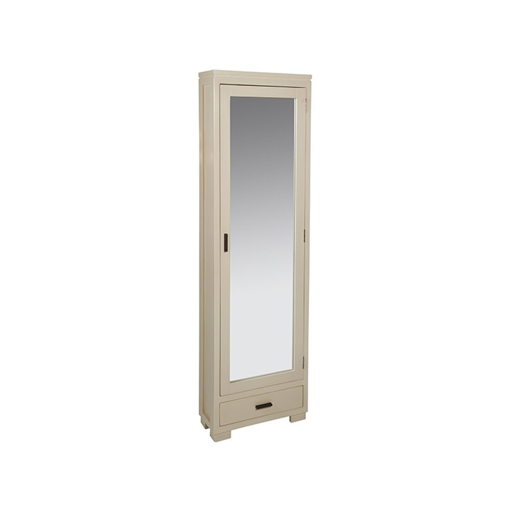 Moble zapateiro con espello 50x20x170 CM