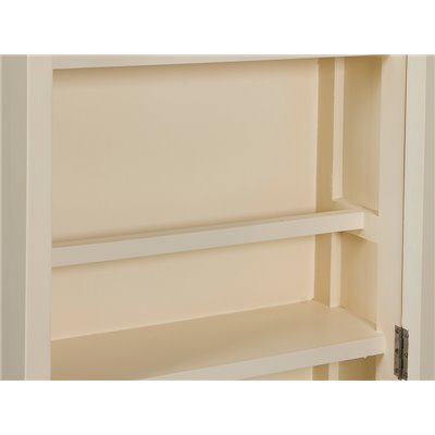 Shoes rack with mirror