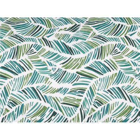 Coussin Adan coordonné vert 30x50 cm