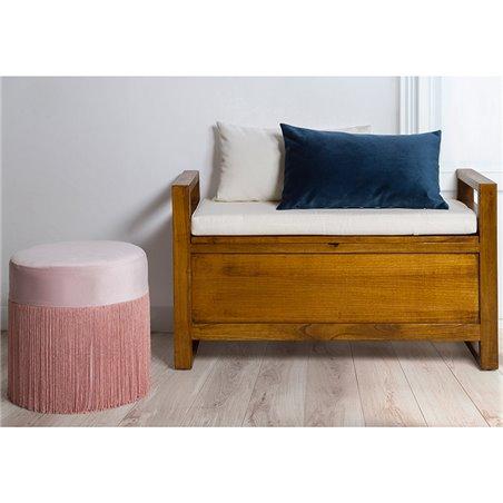 Banc tapiz tirroire 90x37x56cm
