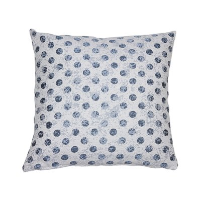 Coordinated cell cushion Aqua 45x45 cm
